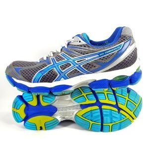 ASICS Gel-Cumulus 14 Athletic Running Shoes Gray